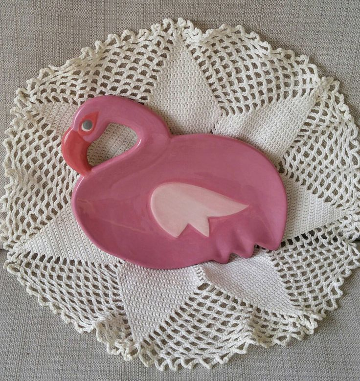 Vintage Flamingo Shaped Dish Flamingo Trinket Plate Decorative Soap Dish Candy Dish Odds & Ends Plate BW Corp Pink 1980s Home Decor by KarmaKollectibles on Etsy https://www.etsy.com/listing/511201803/vintage-flamingo-shaped-dish-flamingo