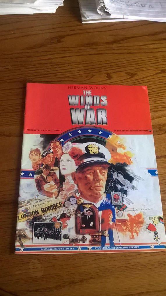 THE WINDS Of WAR Herman Wouk Cultural Info by LightsOutBookshoppe
