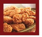 KFC hotwings, what I'd choose for my very last meal with extra hot sauce.