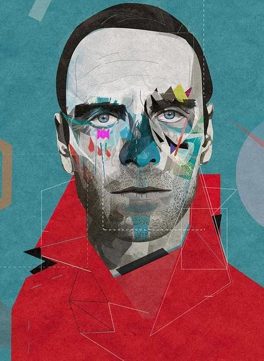 Fassbender Illustrations by Żaneta Antosik