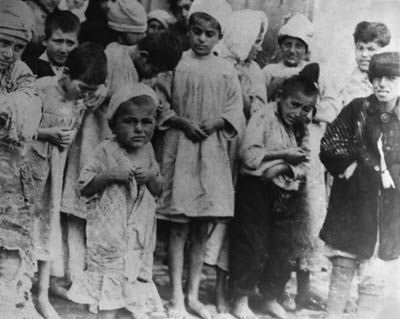 Armenian children victims of genocide...poor babies, they look so scared:( Man's inhumanity to man!