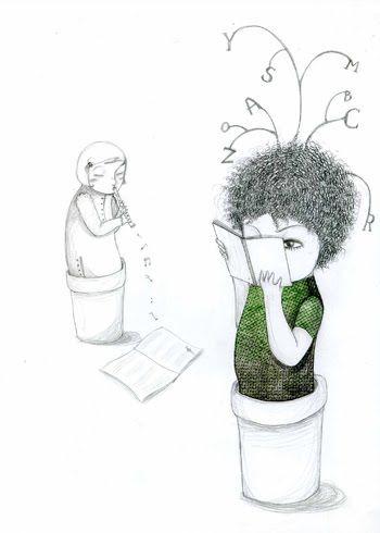 Ilustración de Chiara Fatti. Detalle