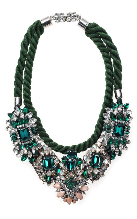 Shop Ivana Necklace by Shourouk for Preorder on Moda Operandi