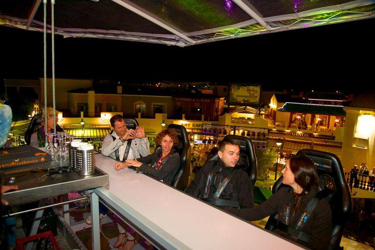Fotografía de la Outlet Shopping Night de Festival Park Outlets, evento producido por La Caseta.