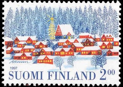 **Finnish Christmas stamp