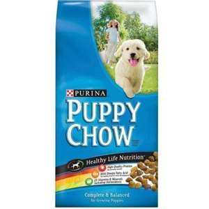 Dry Purina or Pedigree Puppy Chow