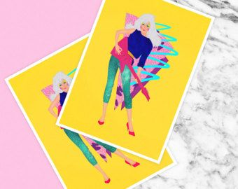 Jem by Camila Fernandez   Full colour poster, 250gsm stock, printed in Wellington, New Zealand, signed at the back by me.