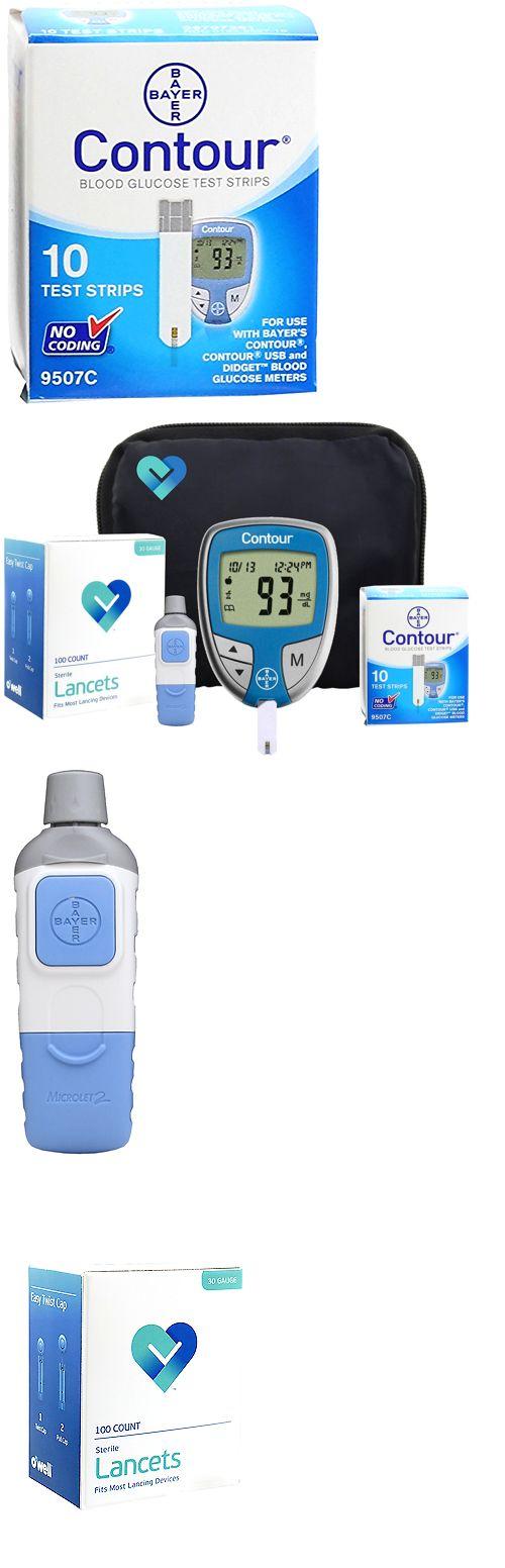 Monitoring Kits: Diabetes Test Kit Tester Diabetic Test Strips Blood Sugar Glucose Meter Machine -> BUY IT NOW ONLY: $32.49 on eBay!