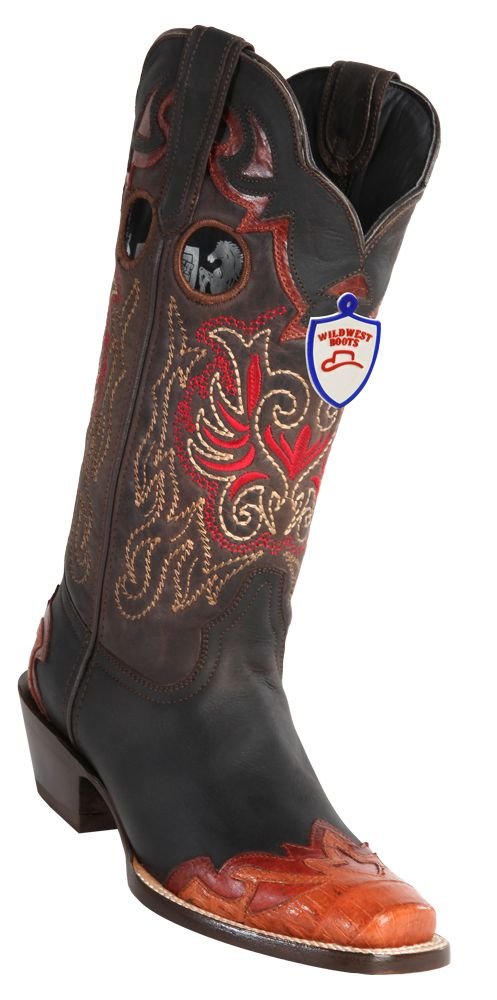 georgetowncowboyboots - Wild West Womens Caiman Boots Square Toe, $245.00 (http://www.georgetowncowboyboots.com/wild-west-womens-caiman-boots-square-toe/)