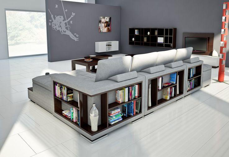 Zaskakująco funkcjonalny narożnik Comfort do dużych pomieszczeń. #furniture