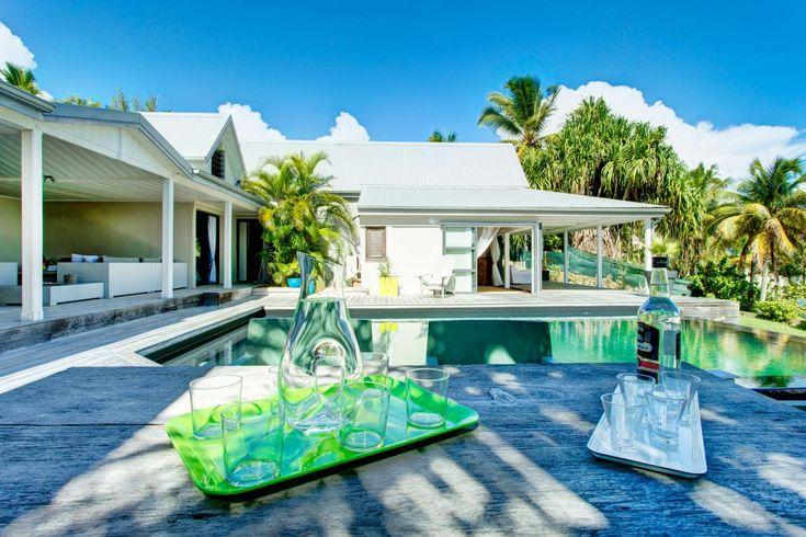 Villa De Luxe Piscine Vue Mer Guadeloupe Vue D Ensemble Villa