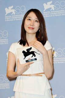 Min-Young Yoo and 'Cho-De| Invitation' at Venice http://wellywoodwoman.blogspot.co.nz/2013/08/min-young-yoo-and-cho-de-invitation-at.html