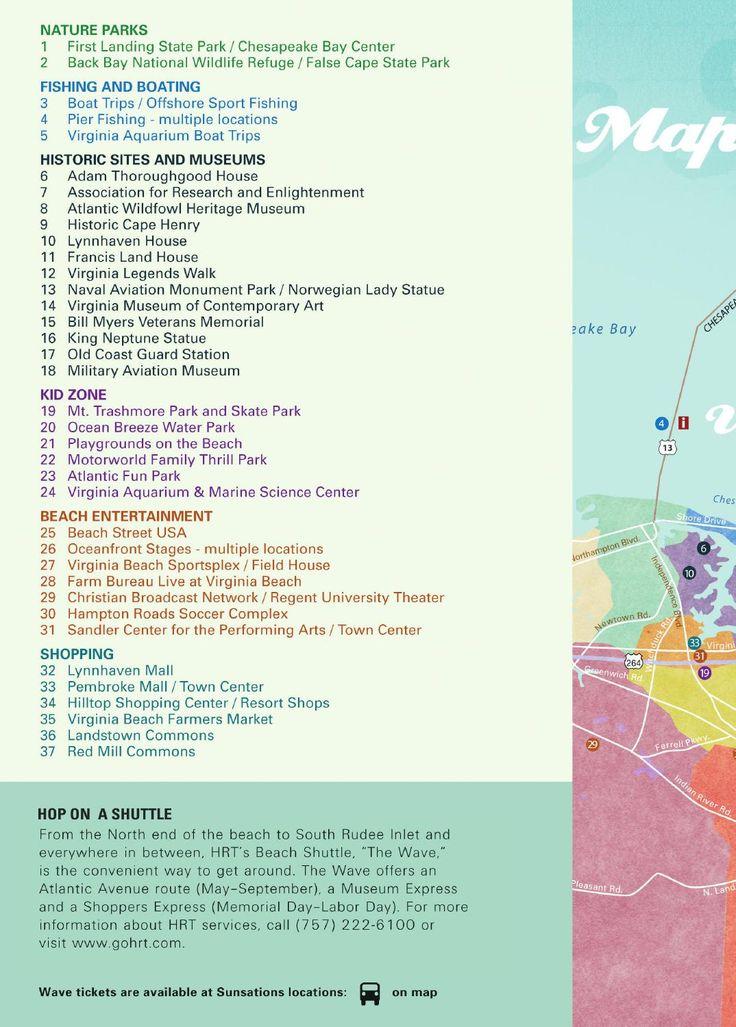 ISSUU - 2014 Virginia Beach Vacation Guide by BCF. Things to do. Virginia Beach.