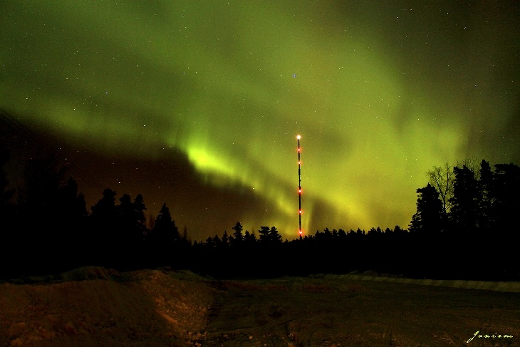 Northern Lights - Merikarvia, Western Finland