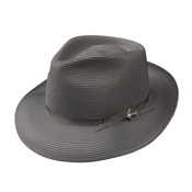 The Stetson Stratoliner is a legendary hat that's been in production for a long time. This Stratoliner features a Florentine Milan braid and has a Gregorian band with the iconic silver airplane pin.