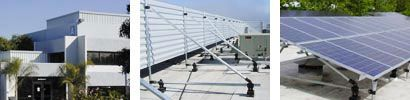 RoofScreen  Solar panel racking system