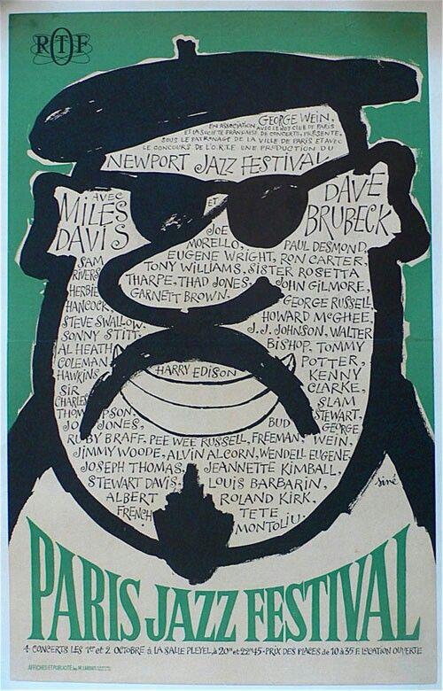 El arte en el Jazz. Paris Jazz Festival (1964)