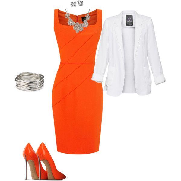 Best 25+ Orange Outfits Ideas On Pinterest | Orange Dress ...