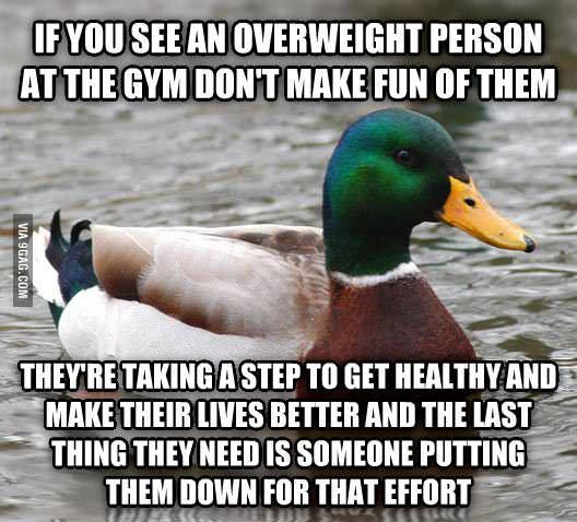 ... Don't make fun of fat people, they can lose weight but you can't lose your stupidity that's the truth don't make fun!