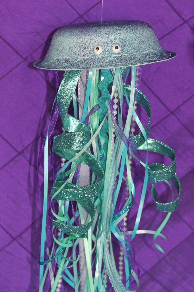 mermaid party Ariel jelly fish
