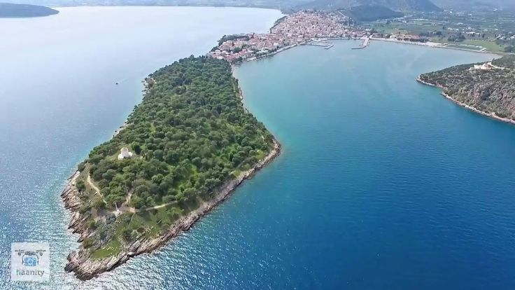 Ερμιόνη η πόλη - νησί του τζετ σετ από ψηλά   Hermione Drone Greece