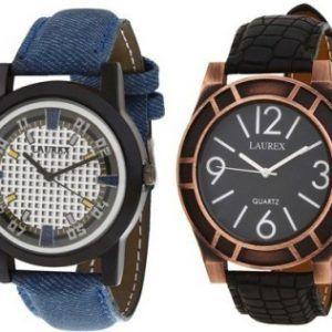 Laurex LX-001-011 Analog Watch – For Men