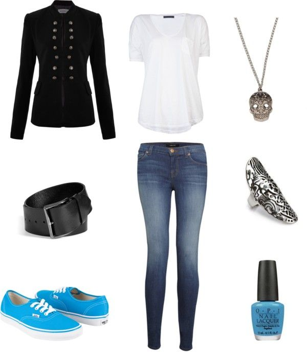 "Outfit inspired by BigBang's TOP in the music video ""Bad Boy"" More Outfits on I Dress Kpop"