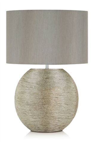 Buy Silver Ceramic Large Table Lamp from the Next UK online shop