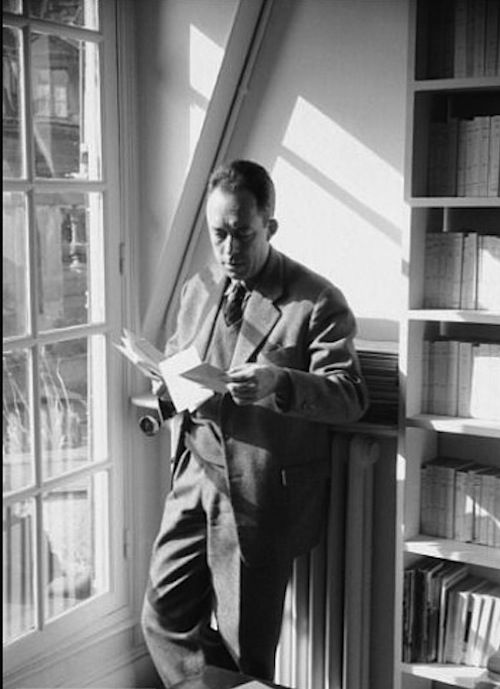 """A person's life purpose is nothing more than to rediscover, through the detours of art or love or passionate work, those one or two images in the presence of which his heart first opened.""—Albert Camus"