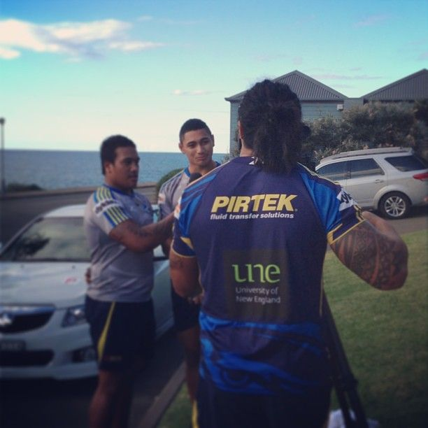 Fui takes over the Eels Digital camera #likeaboss