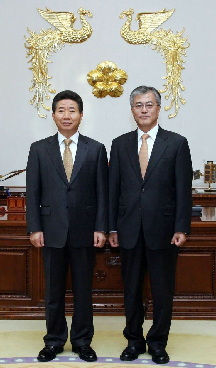 FORMER AND PRESENT PRESIDENT