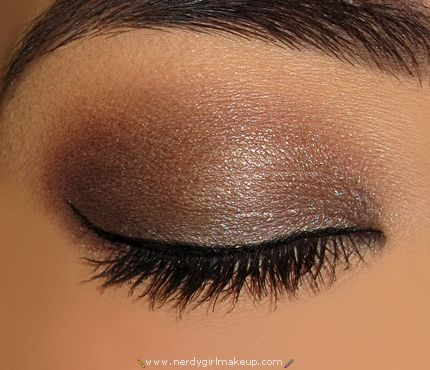 urban decay smoked palette look. Pretty!