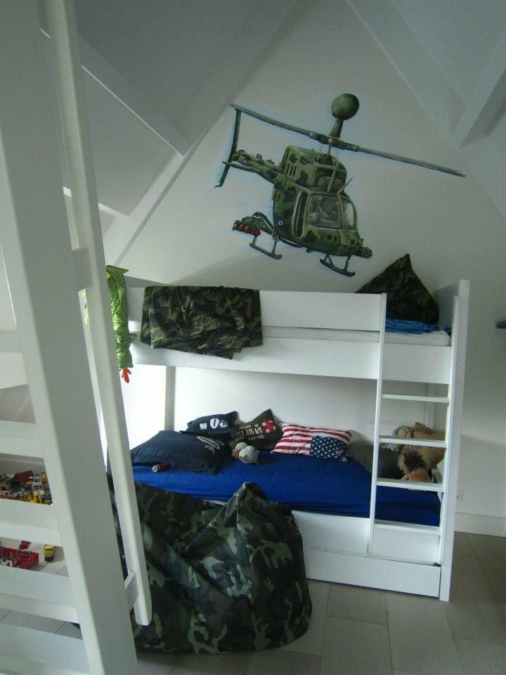 25 beste idee n over jongens leger kamer op pinterest leger kamer leger slaapkamer en kamers - Idee deco kamer kleine jongen ...