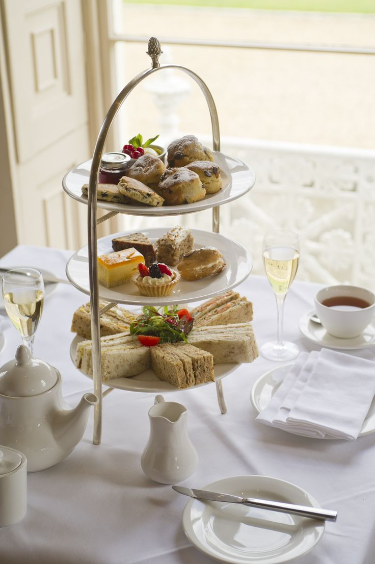 Afternoon Tea at Stoke Park Country Club, Spa & Hotel.