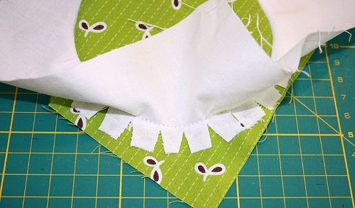 tutorial on sewing perfect circles