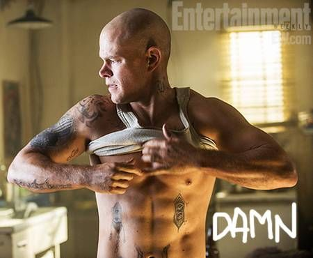 matt damon elysium workout schedule fitness health body shape movie film job