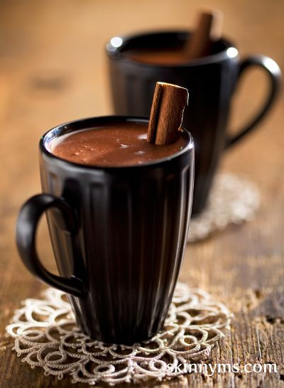 For an extra creamy & rich hot chocolate, add 2-3 tablespoons of our Mexican Hot Chocolate Mix to 8 ounces of heated coconut milk.  #Mexican #hotchocolate