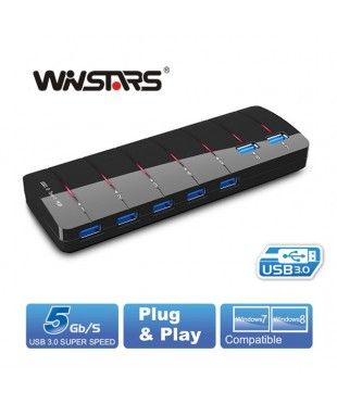 Winstars 7 Port USB Hub