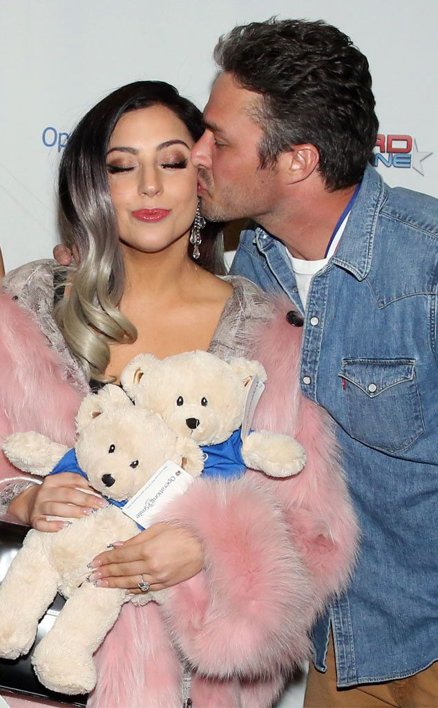 Lady Gaga & Taylor Kinney Show Sweet PDA at Operation Smile Charity Event—See the Photo!  Lady Gaga, Taylor Kinney