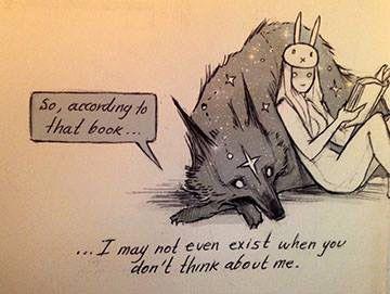 Wolf & Bunnygirl
