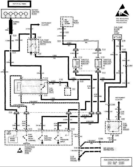 tbi wiring diagram 93 chevy c1500 truck  auto wiring