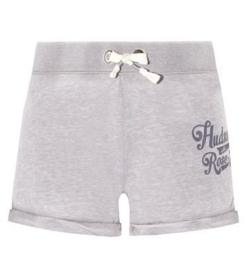 Grey Hudson and Rose Burnout Shorts