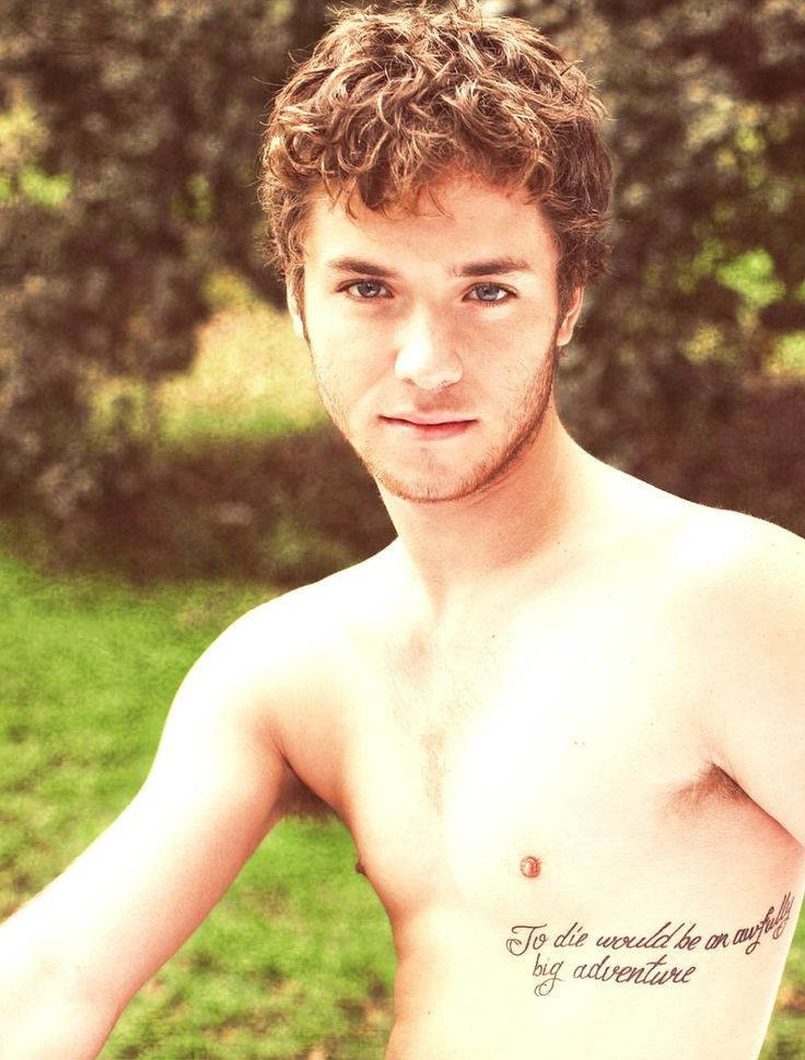 Tattoo. —Peter Pan with a Peter Pan quote tattoo.