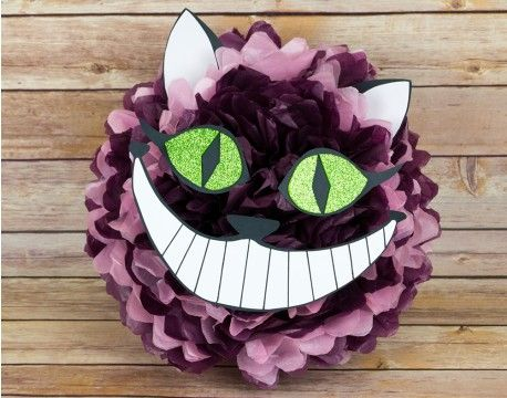 paper crafts ideas adults cheshire cat tissue paper pom pom craft idea the 5088