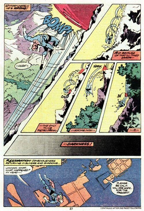 Avengers #185, page 27 by John Byrne & Dan Green & Roger Slifer. 1979.