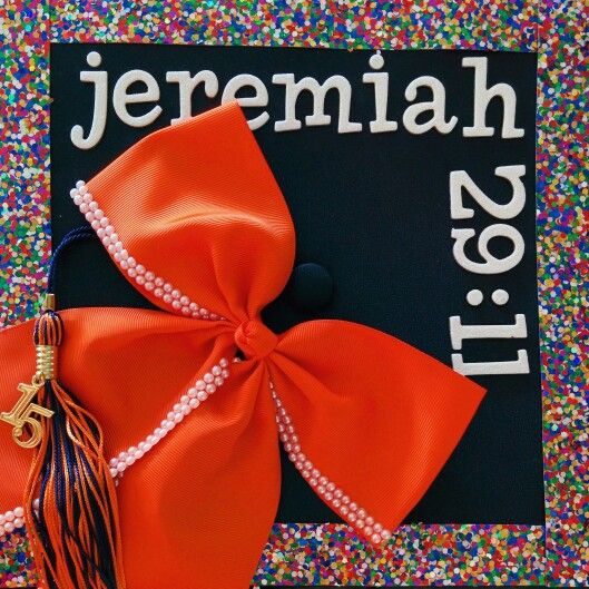 101 best decorated graduation caps images on pinterest for Decorated bible
