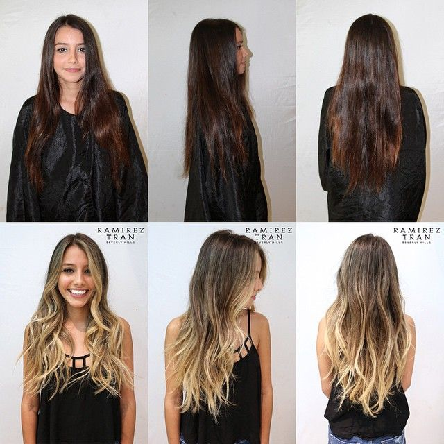 BEFORE|AFTER: A JAW DROPPING TRANSFORMATION BY RAMIREZ|TRAN. Hair Color by @johnnyramirez1 ⋅ Cut/Style by @anhcotran