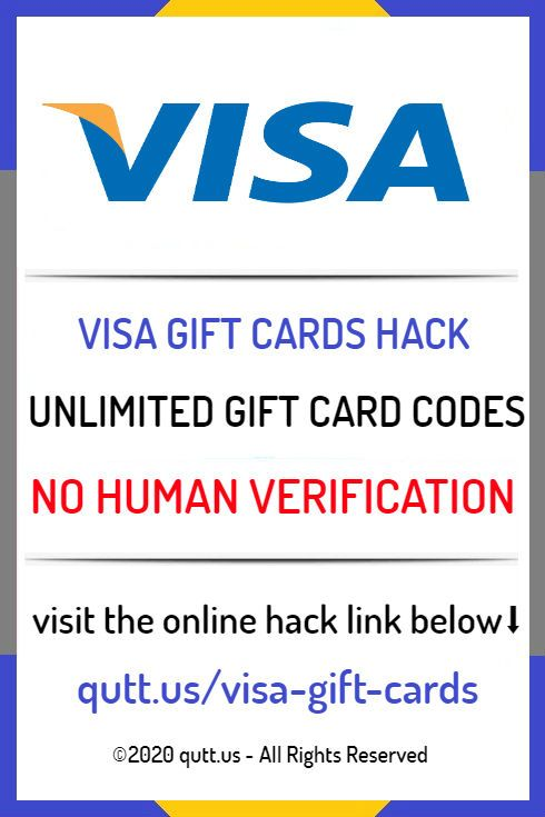 Free Visa Gift Cards Generator No Survey Or No Human Verification 2020 Free Gift Cards Online Mastercard Gift Card Gift Card Generator