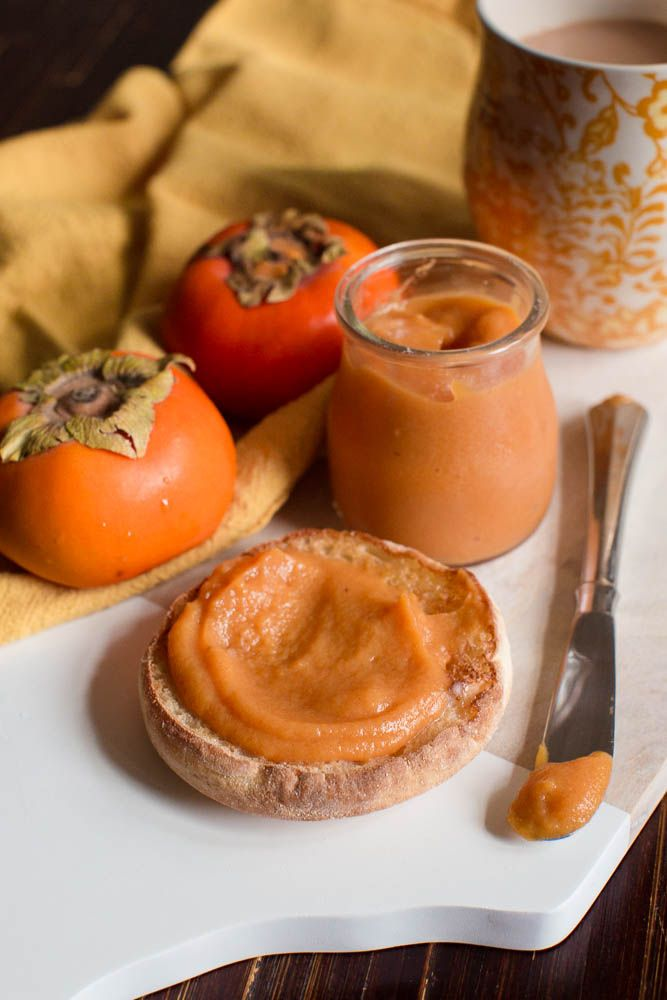 "Lick My Spoon | Persimmon Butter. ""Persimmon Butter:: slather it on toast or stir it into oatmeal or yogurt. It also makes a fine addition to a cheese plate!"""