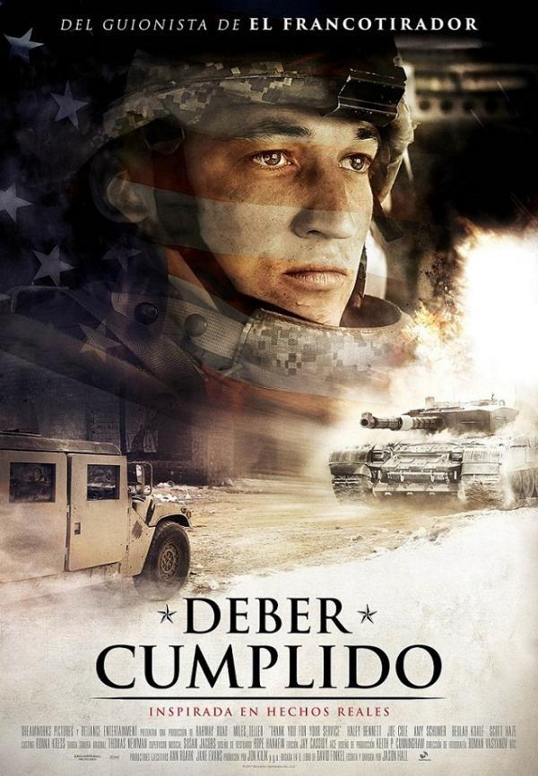 Deber cumplido: Adam Schumann regresa a casa tras cumplir con su servicio en el ejército norteamericano en Irak. Las cosas no son fáciles ni para él ni para su familia, ya que no logra encontrar la paz debido al trastorno de estrés posttraumático que padece.      #peliculas #drama #cine #cinema #film #cinefilos